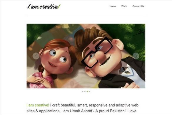 IAmCreative is a free WordPress Theme