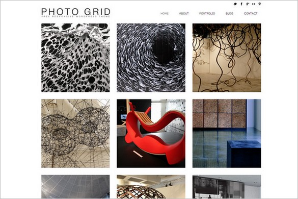Photo Grid is a free WordPress Theme from Dessign.net