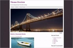 San Francisco is a free WordPress Theme