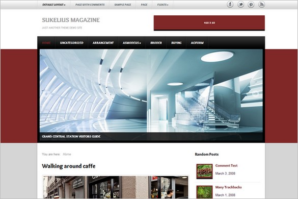 Sukelius Magazine is a free WordPress Theme