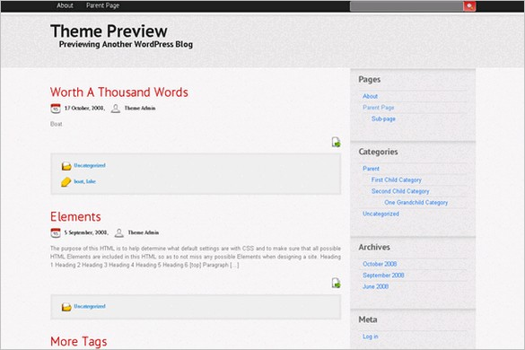 Trendy is a free WordPress Theme