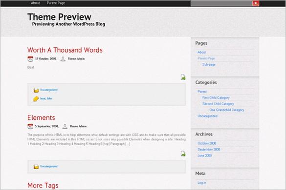 Trendy is a free WordPress Theme