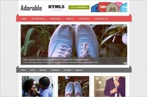Adorable is a WordPress Theme by MyThemeShop
