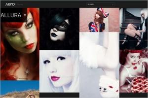 Allura minimalist WordPress Portfolio Theme