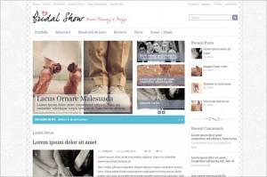 Bridal Show is a free WordPress Theme by WPDance