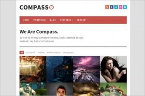 Compass is a responsive WordPress Theme