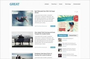 Great Free Magazine WordPress Theme by MyThemeShop