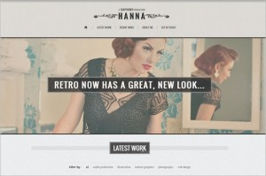 Hanna is a responsive retro WordPress Theme