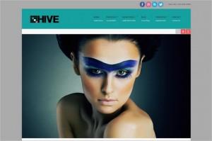 Hive is a responsive portfolio WordPress Theme