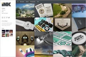Ink is an elegant portfolio WordPress Theme by Theme Trust