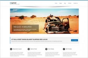Inspired is a portfolio WordPress Theme