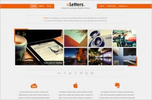 Letters is a premium WordPress Theme by ColorLabs
