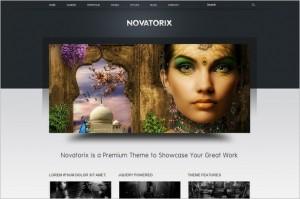 Novatorix is a premium WordPress Theme
