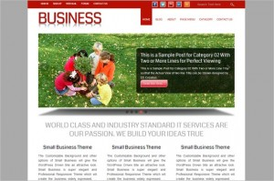 Small Business is a free WordPress Theme by D5 Creation