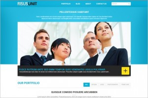 Risus Unit is a free WordPress Theme by WPDance