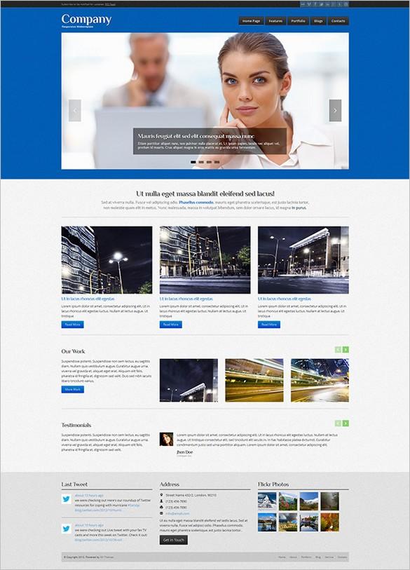 Company is a responsive business WordPress Theme