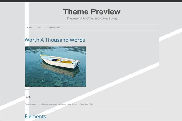 Embed is a free WordPress Theme