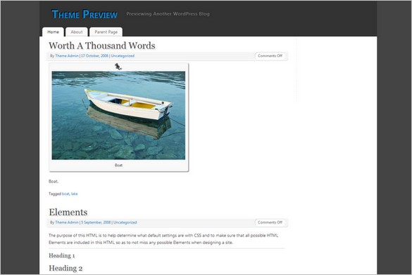 Mantra is a free WordPress Theme