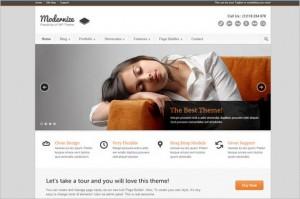 Modernize is a flexible WordPress Theme