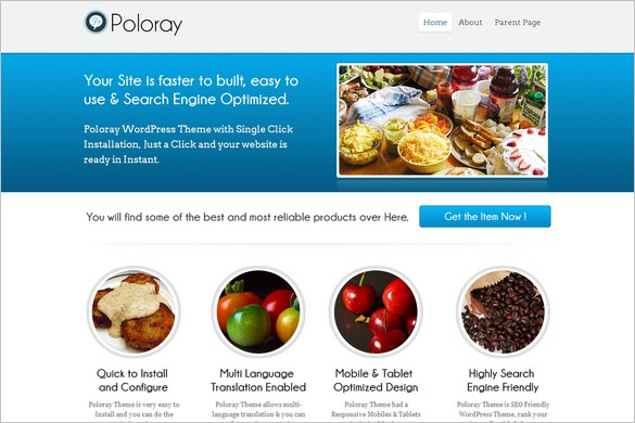 Poloray is a free WordPress Theme