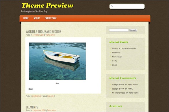 ePublishing is a free WordPress Theme