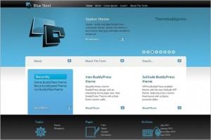Blue Steel is a free WordPress Theme