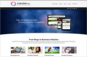 Celestial - Lite is a free WordPress Theme