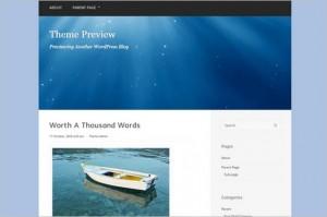 Paradise is a free WordPress Theme