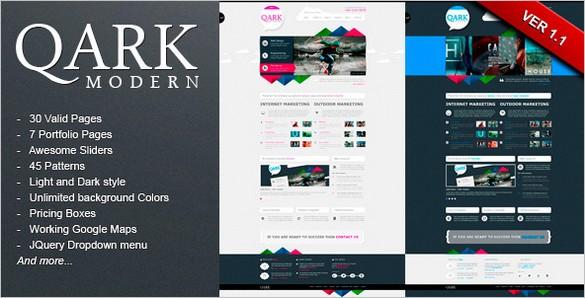QARK Modern is a HTML Template