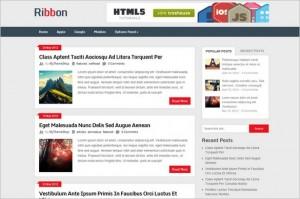 Ribbon is a free Magazine WordPress Theme from MyThemeShop