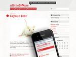 AlbinoMouse is a free WordPress Theme