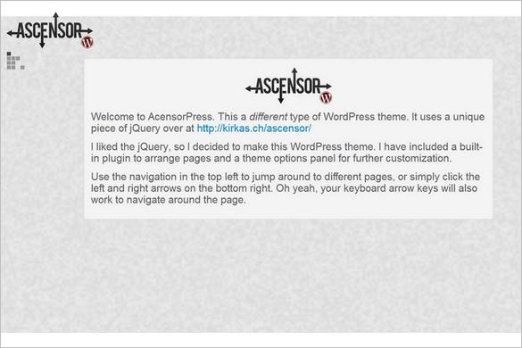 AscensorPress is a free WordPress Theme by Brag Themes
