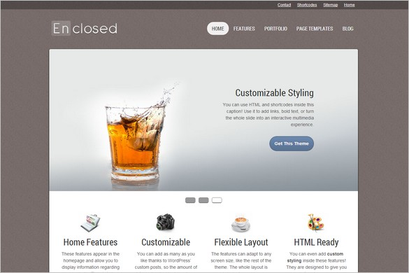 rofessional WordPress Themes - Enclosed