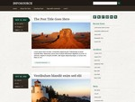 Infosource is a free WordPress Themes