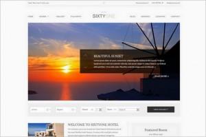 SixtyOne - A Stunning Hotel & Resort WordPress Theme
