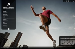 SmartScreen is a fullscreen WordPress Theme