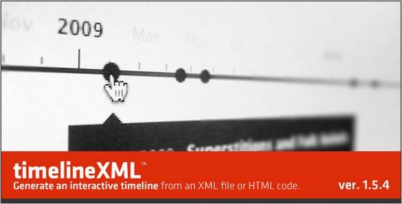 jQuery TimelineXML script