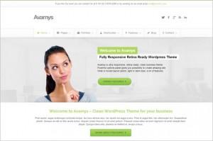 Avamys is a Retina Ready Business WordPress Theme