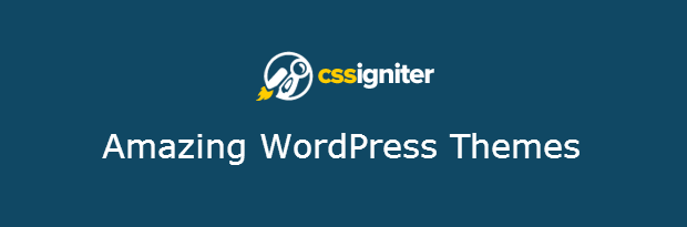 Annual Subscriptions of WordPress Themes from CSSIgniter