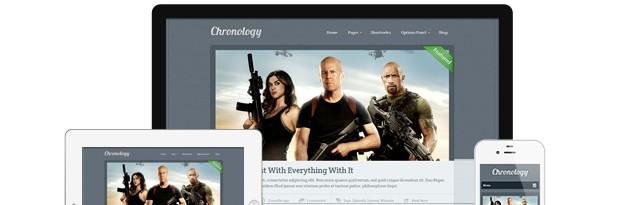Chronology Timeline WordPress Theme by MyThemeShop