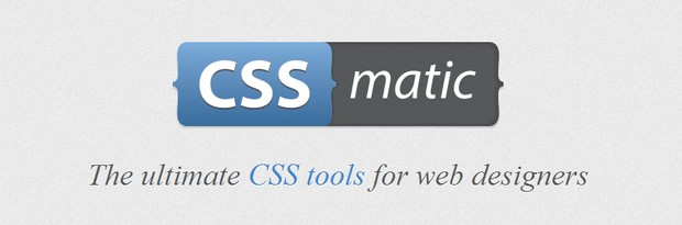 CssMatic - The ultimate CSS tools for web designers