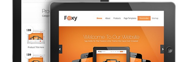 Foxy All-in-one Solution Business WordPress Theme