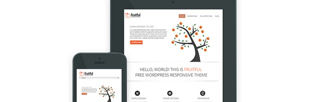 Fruitful A Powerful And Sleek Free Wordpress Theme Wp Daily Themes