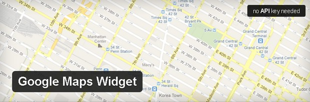 Google Maps Widget WordPress Plugins