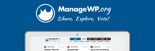 ManageWP.org - A Community Site for WordPress Enthusiasts