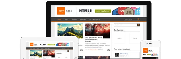 Playbook is a free WordPress Theme from MyThemeShop