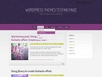 Purple Pro is a free WordPress Theme