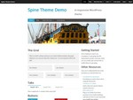 Spine is a free WordPress Theme