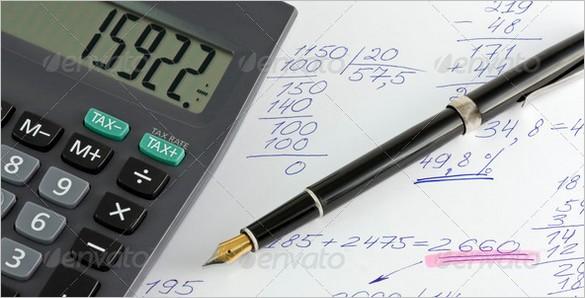 Free files - profit - calculator and pen grip
