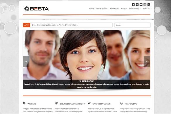 Besta is a Multi-Purpose WordPress Theme
